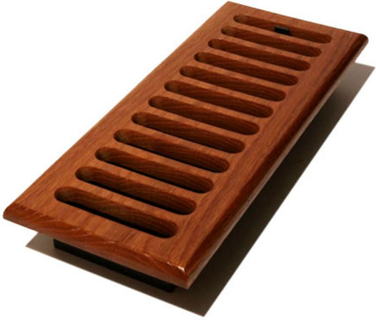 Decor Grates W210 M Slotted Design In Solid Brass Floor