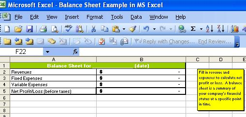 Handyman Business Forms Templates - excel balance sheet template free download