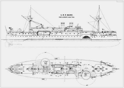 diagram of boat calypso