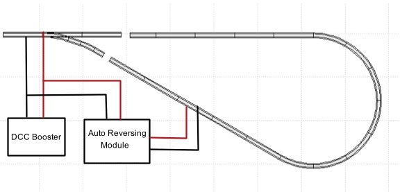 ho scale track wiring