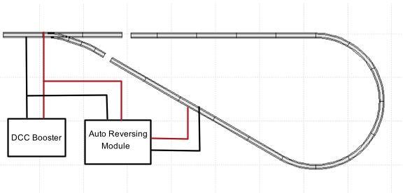 ho scale dcc track wiring