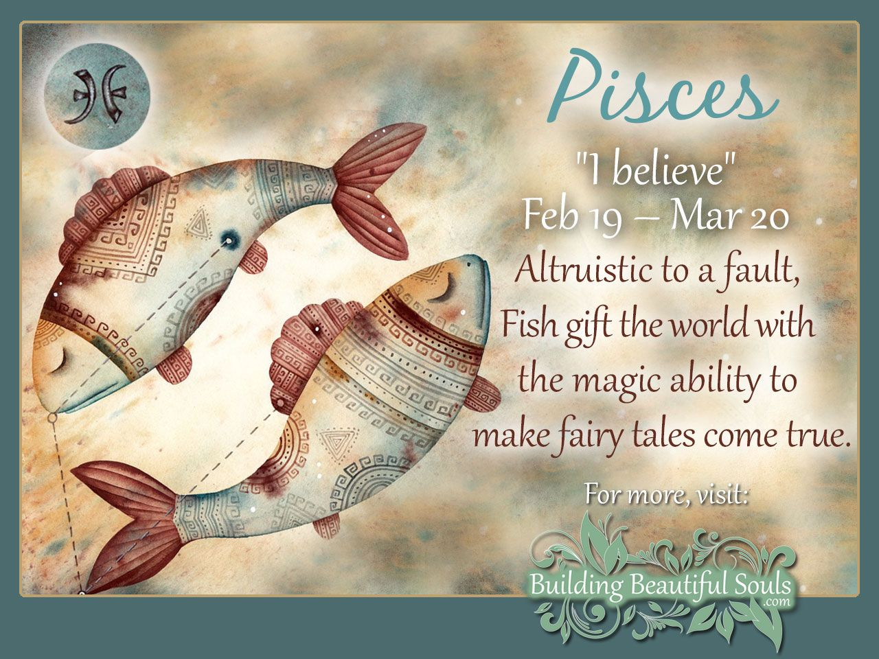 The Yellow Wallpaper Symbolism Quotes Pisces Star Sign Pisces Sign Traits Personality