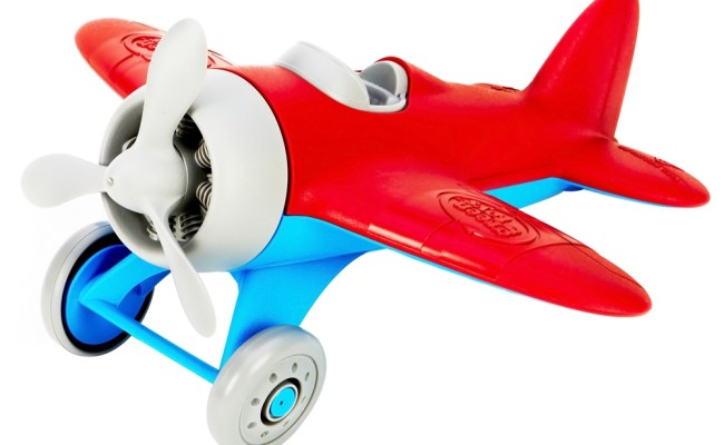 Green Toys Airplane Building Blocks