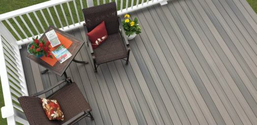 Fiberon Pro-Tect-Gray-Birch pvc coated composite decking