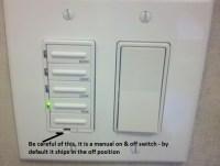 Installing a Bathroom Fan Timer :: Building Moxie