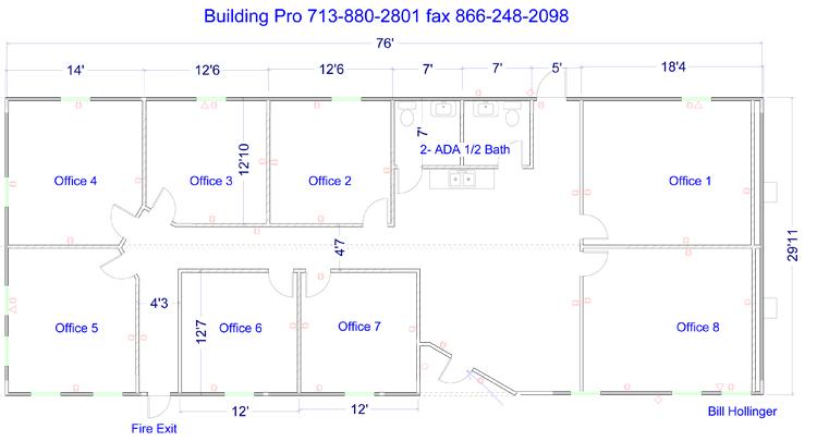 Floor Plans For Commercial Modular Office Buildings