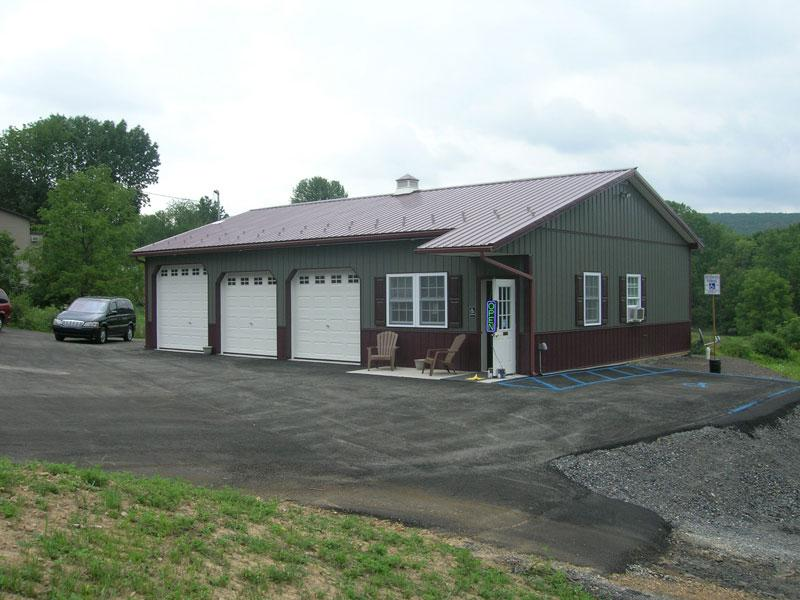 Light Commercial Pole Buildings In Hegins Pa Timberline