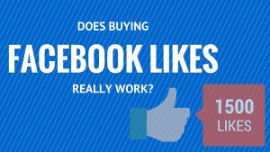 Does buying Facebook likes really work