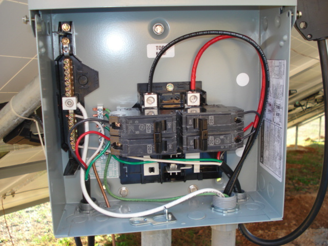 100 Amp Garage Service Wiring Diagram Doug S New 4 6 Kw Micro Inverter Diy Grid Tied Pv Array