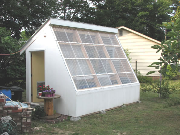 Diy Solar Greenhouse Heater Diy Projects