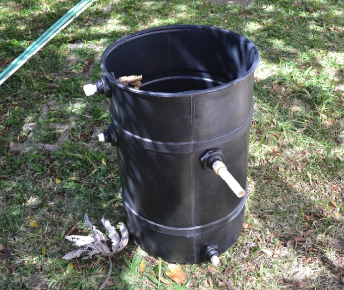 A Simple Solar Water Heater For The Tropics