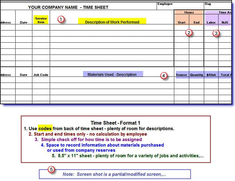 Timesheets for Construction Companies (English-only Version) - Build