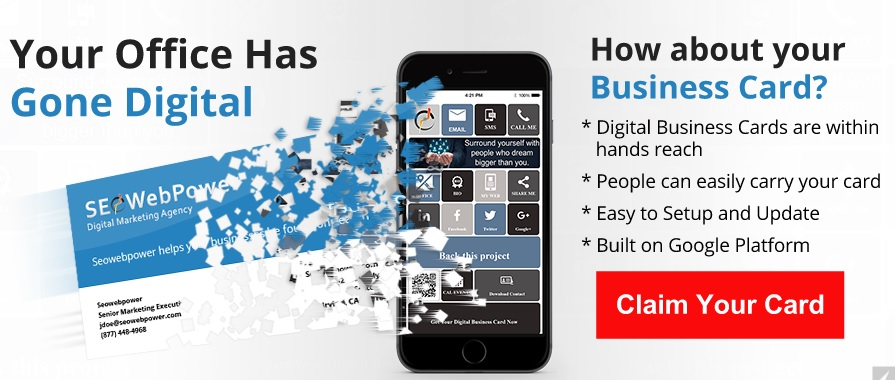 Why Isn\u0027t Your Business Card Digital? Build Your Promo Website