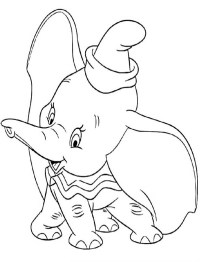 √ Dumbo The Elephant Coloring Pages Coloring Pages