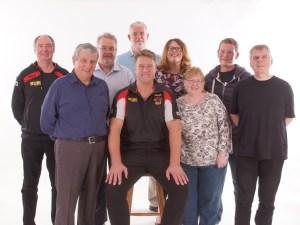 John Bastian with members of the BullBuilder committee