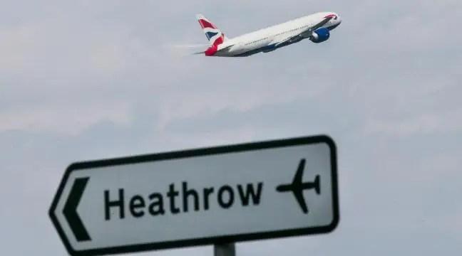 drone hits plane