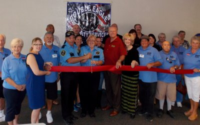 Ribbon Cutting for Double Eagle Security Services