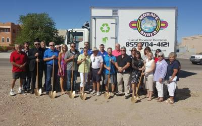 Mohave Shred Ground Breaking