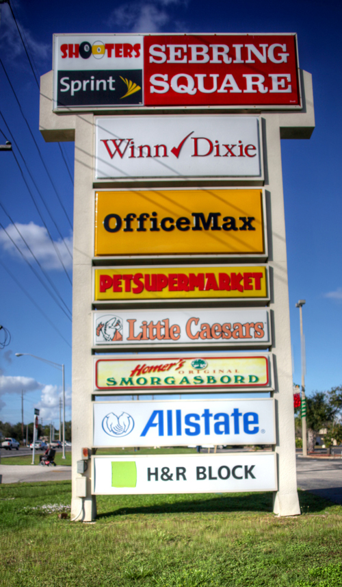 SOLD Grocery Anchored Center in Sebring, Florida