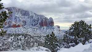 Kolob Canyon in Winter