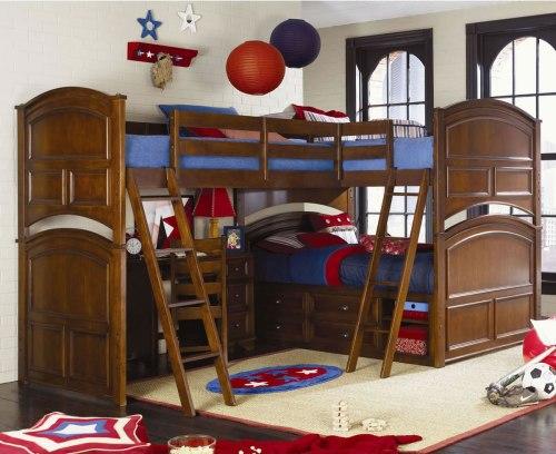 Medium Of Triple Bunk Bed