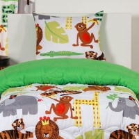 Safari Bedding   Jungle Love Bed Cap Comforter Set