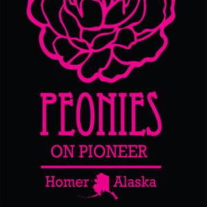 Peonies On Pioneer