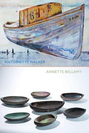 Antoinette Walker And Annette Bellamy, July Exhibit