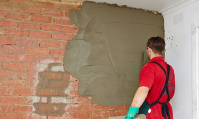 How to hard plaster a brick wall | Bunnings Warehouse