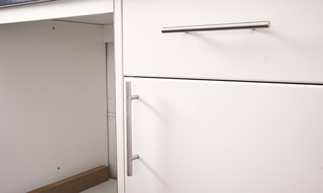 How To Install Handles On Kitchen Cabinets Bunnings