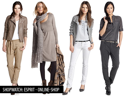 Shopwatch Esprit Online Shop Shopwatch: Esprit   Online Shop