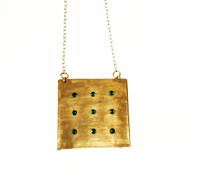 Square Grid Pendant