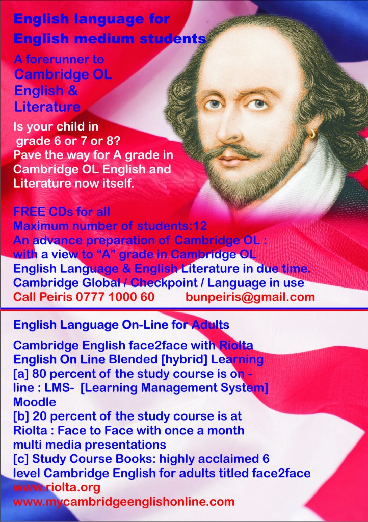 Tuition English Language Cambridge