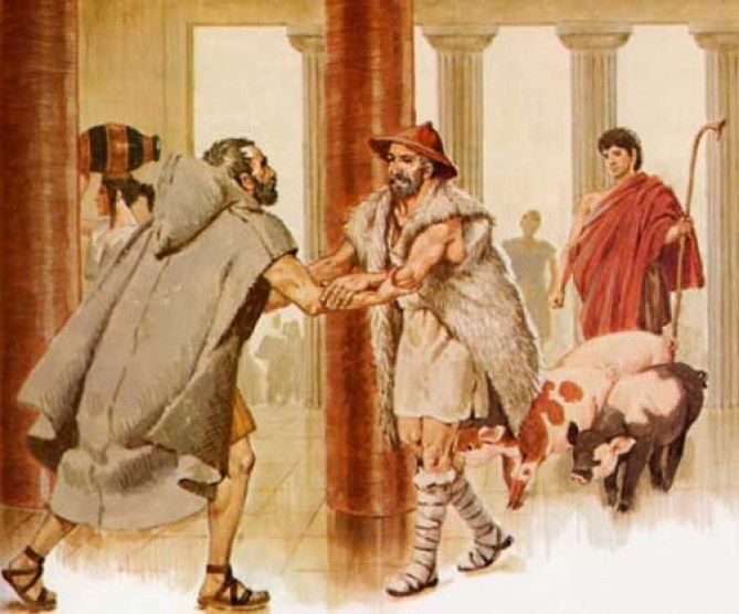 odysseus master of his own fate Quiz questions, major themes, characters, and a full summary and analysis the odyssey study guide contains a biography of homer makes this graphically clear when foretelling antinous' fate: meanwhile, odysseus and his troop reach laertes' dwelling on his own, odysseus finds.