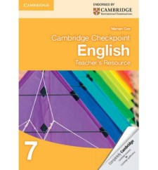 Cambridge-Checkpoint-English-Teachers' Book 7