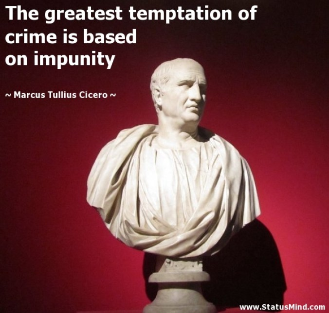 cicero talking of Sri Lanka.