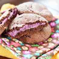 cheesecake filled cookies