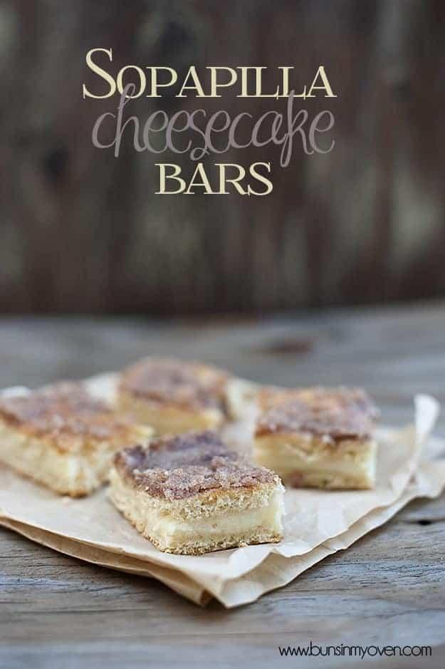sopapilla cheesecake bars recipe