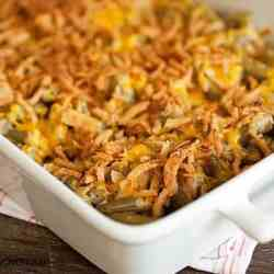 green bean casserole recipe without soup