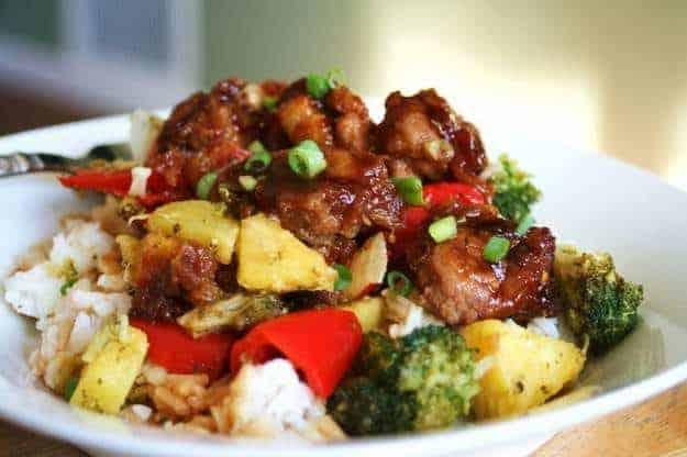 Pineapple Chicken Teryaki 2