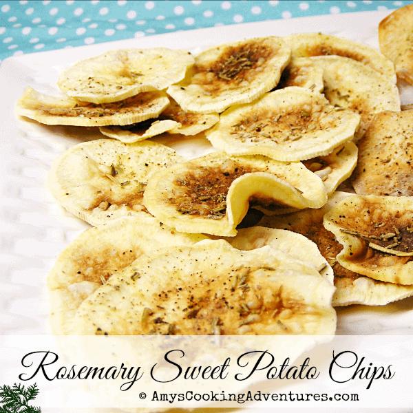 Rosemary Sweet Potato Chips