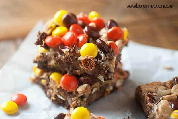 Chocolate Peanut Butter Seven Layer Bars Recipe