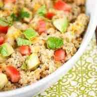 Salsa Verde Chicken Quinoa Recipe