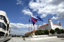 Parlamento e Castello, simboli di Stato, Repubblica Slovacca (nrsr.sk) ue sk