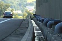 un tratto di superstrada R1 vicino Ziar n-Hronom (foto transport-sk)