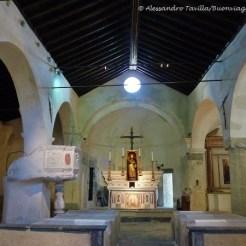 interno S. Antonio abate a Costarainera