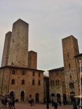 Torri piazza Duomo San Gimignano