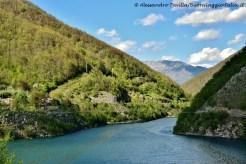 Vagli Sotto - Ponte Tibetano sospeso sul Lago