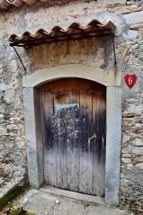 Porta antica abitazione a Montalbano Elicona