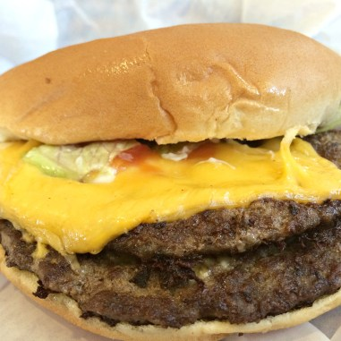 1/4 Lb. Double Cheeseburger